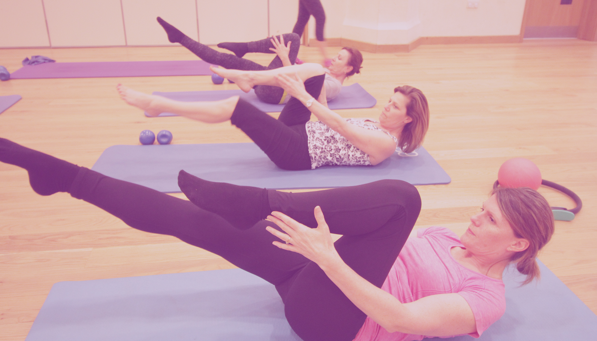 WORK HARD WITH PILATES